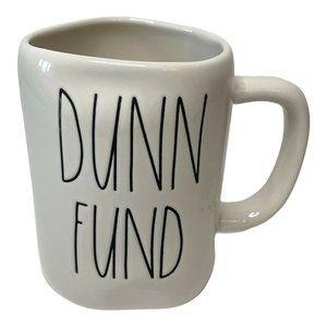 """Rae Dunn """"Dunn Fund"""" Mug Artisan Collection NWOT"""